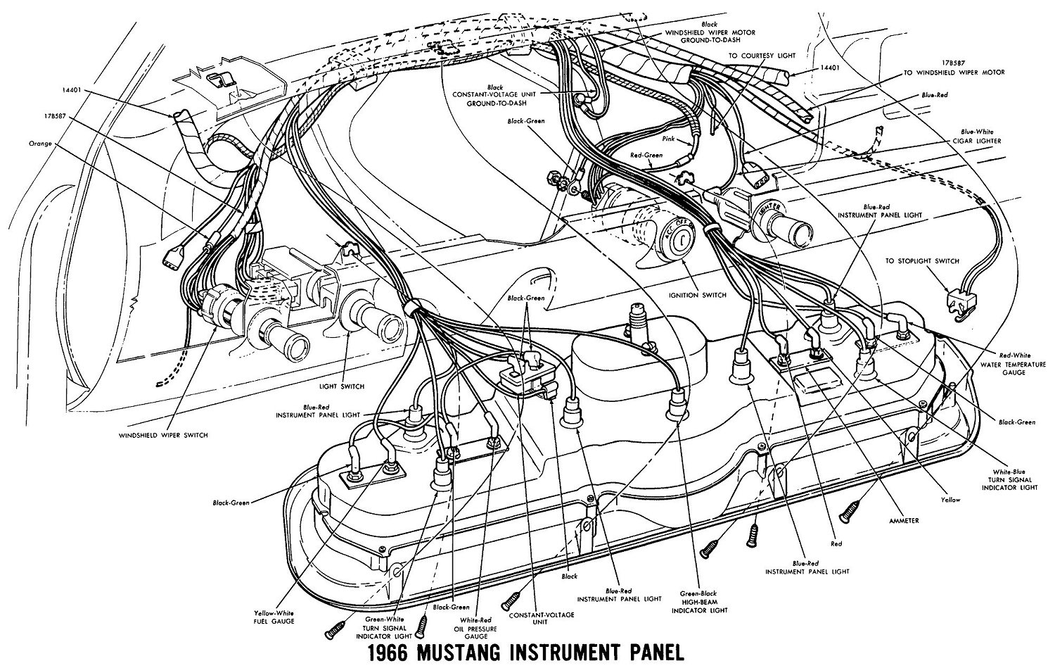 [SCHEMATICS_4FD]  Vintage Mustang Wiring Diagrams | 1966 Ford Mustang Wiring Diagram |  | jacobsonrs.tripod.com