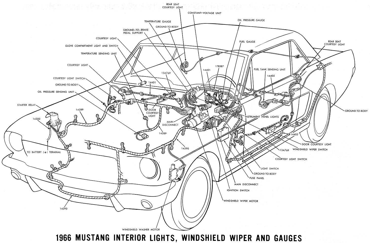 [SCHEMATICS_4FD]  Vintage Mustang Wiring Diagrams   1966 Mustang Dash Wiring Diagram Free Picture      jacobsonrs.tripod.com
